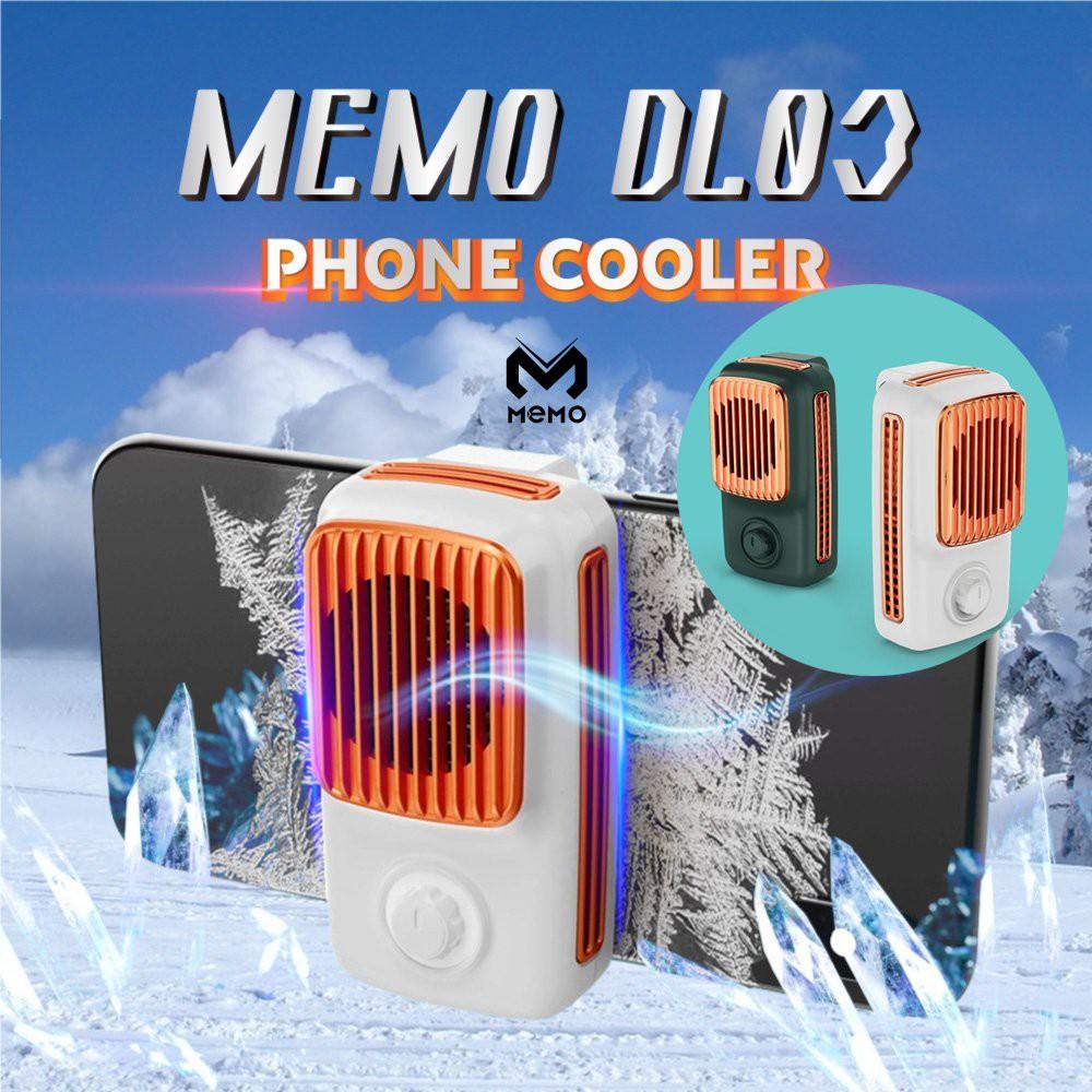 Quạt tản nhiệt MeMo DL03 - Tản nhiệt gaming làm mát nhanh chóng cho điện thoại khi chơi game