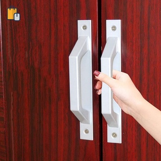 Aluminum Alloy Handle Thickened Window and Cabinet Door Handle Drawer Small Handle The Balcony Move Window Small Buckle Handle OUYOU