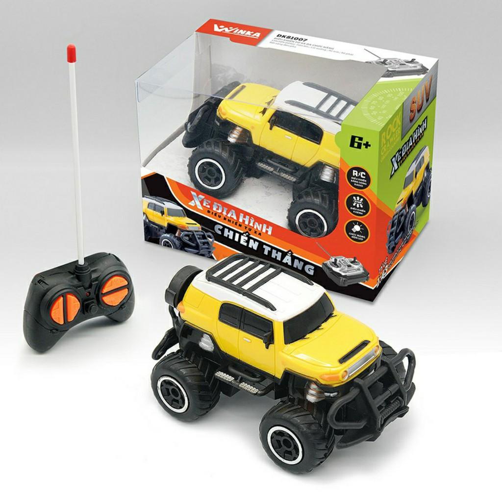 đồ chơi mô hình ô tô điều khiển từ xa dùng pin siêu nhạy thương hiệu DUKA