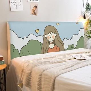 ❧✶♘Nordic ins Bộ trải giường trải giường phổ thông bao trọn gói bao mềm bao phủ bụi đa năng giường ngủ đệm đàn hồi