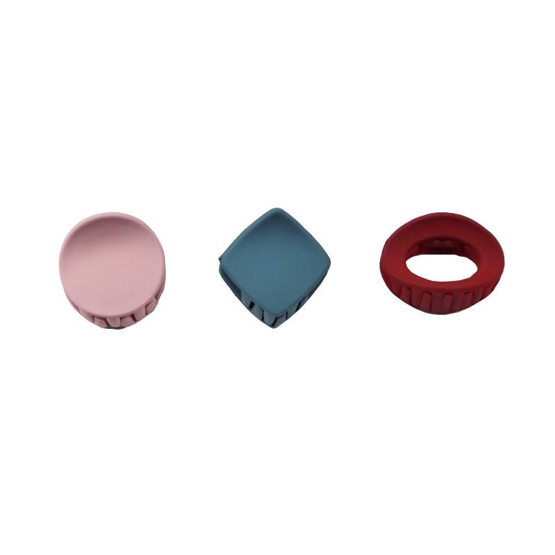 COD CHDM XiaoboACC Kẹp Tóc Bằng Nhựa Acrylic Kiểu Dáng Hàn Quốc