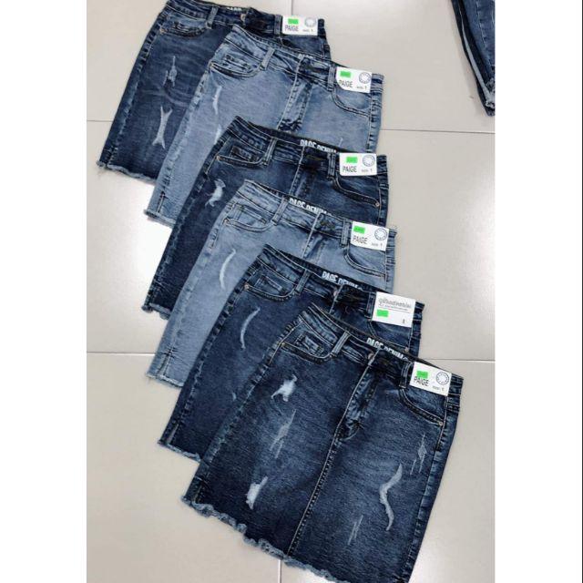 Váy jean có quần short bên trong