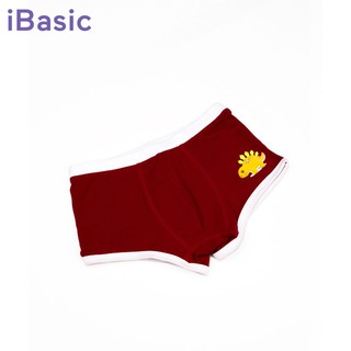[Mã KIDMALL15 hoàn 15% xu đơn 150K] Quần boxer brief bé trai khủng long iBasic PANB002