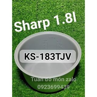 Ruột Nồi, Lòng Nồi cơm điện nắp gài Sharp 1.8 lít KS-183TJV phụ tùng linh kiện chính hãng