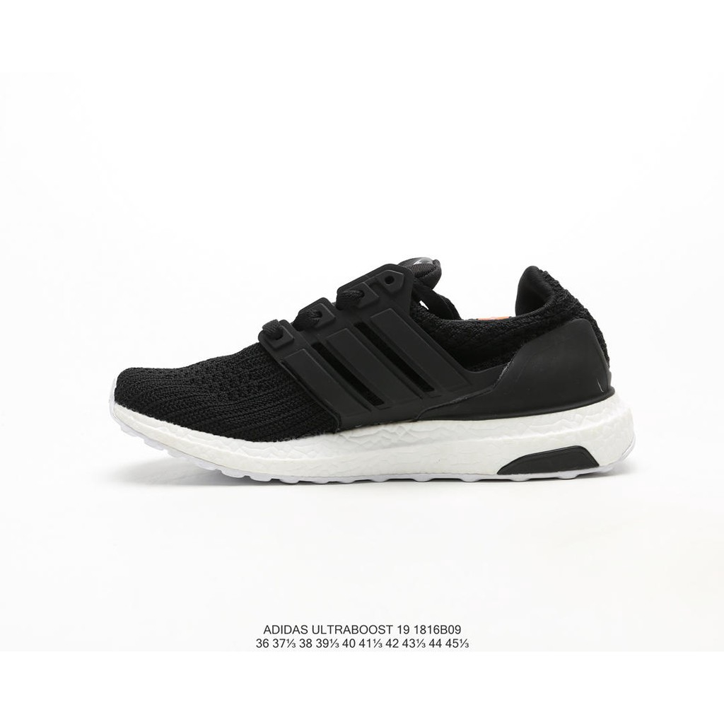 Adidas Ub4.0 Joint-name Popcorn Couple Running Shoes Black and White