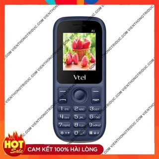 📌BH CHÍNH HÃNG📌 Điện Thoại GSM Vtel A1 – 2 Sim 2 Sóng – Số To, Chữ To, Pin Bền, FM Đầy Đủ, Thiết Kế Đẹp- Giá Siêu Rẻ