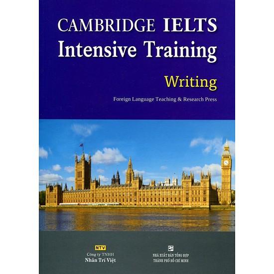 sách - Cambridge IELTS Intensive Training Writing (Không CD)