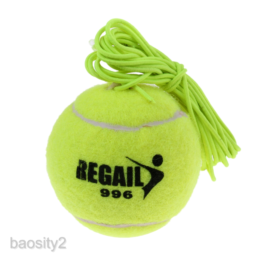 Elastic Tennis Balls with String for Tennis Training Indoor Outdoor Practice