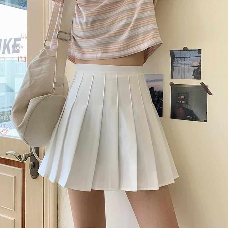 [Mã FAMAYWA giảm 10K đơn 50K] Chân váy chữ A tennis dáng siêu xinh