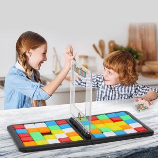 Children vs. Rubik's Cube, puzzles, parent-child toys