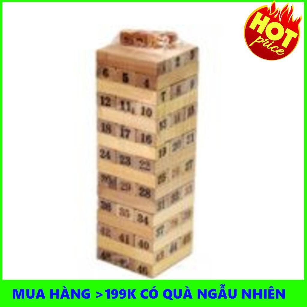 [Nhập TOYAPR10K giảm ngay 10K]đồ chơi rút gỗ 48 miếng nặng 1kg   TẠI BA ĐÌNH