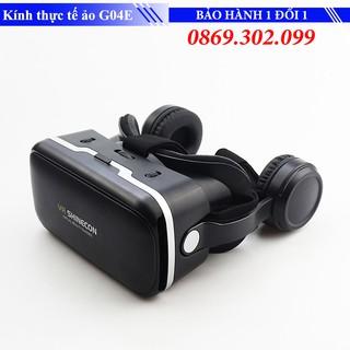 [Mã ELMSBC giảm 8% đơn 300k] Kính thực tế ảo SHINECON G04EA Black Xem Phim 3D chất lượng cao