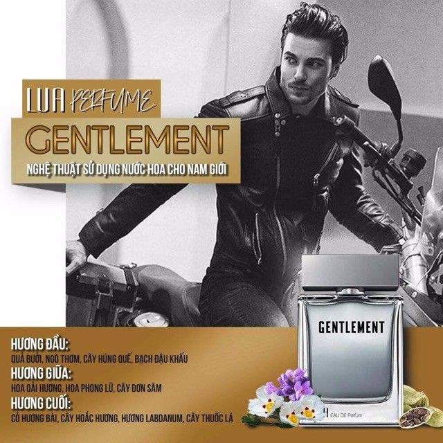 Nước hoa nam  LUA Gentlement 50ml