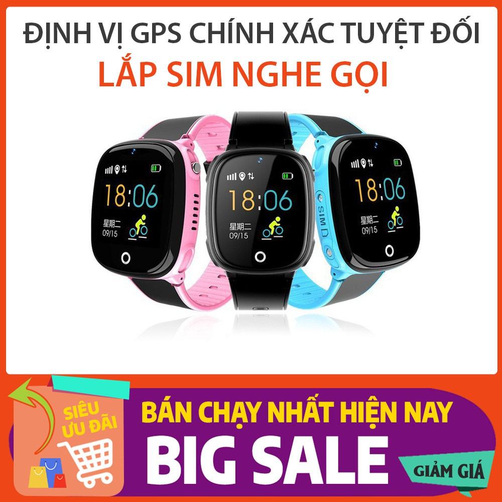 Đồng hồ thông minh trẻ em HW11 - đồng hồ định vị trẻ em GPS - nghe gọi điện thoại, bảo vệ bé trai bé gái tuyệt đối