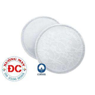 Lót thấm sữa vải Cotton(Hàng VN chất lượng cao)