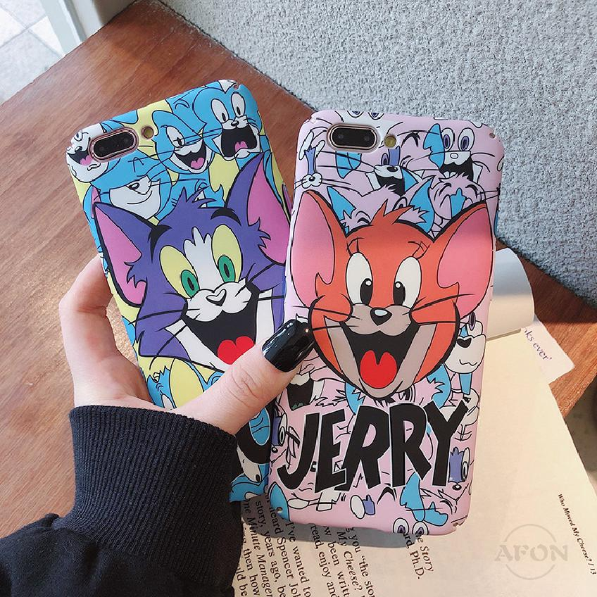COD Iphone Cartoon TOM Phone JERRY Case IphoneXr 7 8 Xs Drop Protection Cover 839
