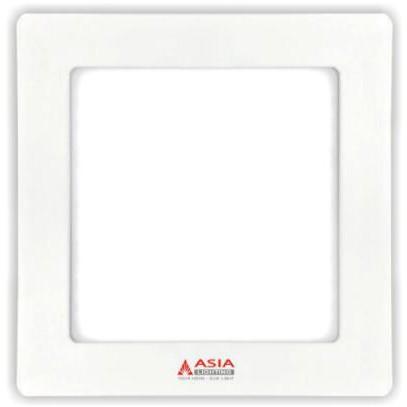 Đèn LED panel vuông siêu mỏng 6W đường kính 105mm ASIA