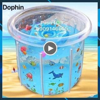 Bể bơi/phao bơi Doctor Dolphin 80×80 ✅THẾ GIỚI XE ĐẨY✅