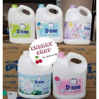 Nước giặt Dnee 2 can 3000ml(Hàng có tem cty Đại Thịnh)