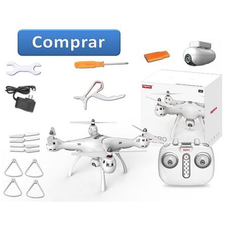 Flycam Syma X8 PRO GPS wifi 720P