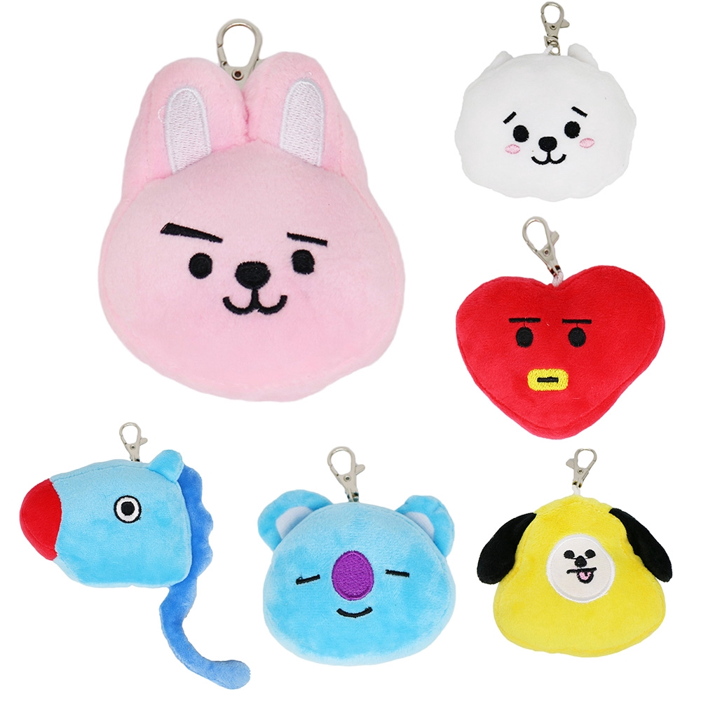 K-pop COOKY Bangtan Boys Key Ring Stuffed BTS Keychain