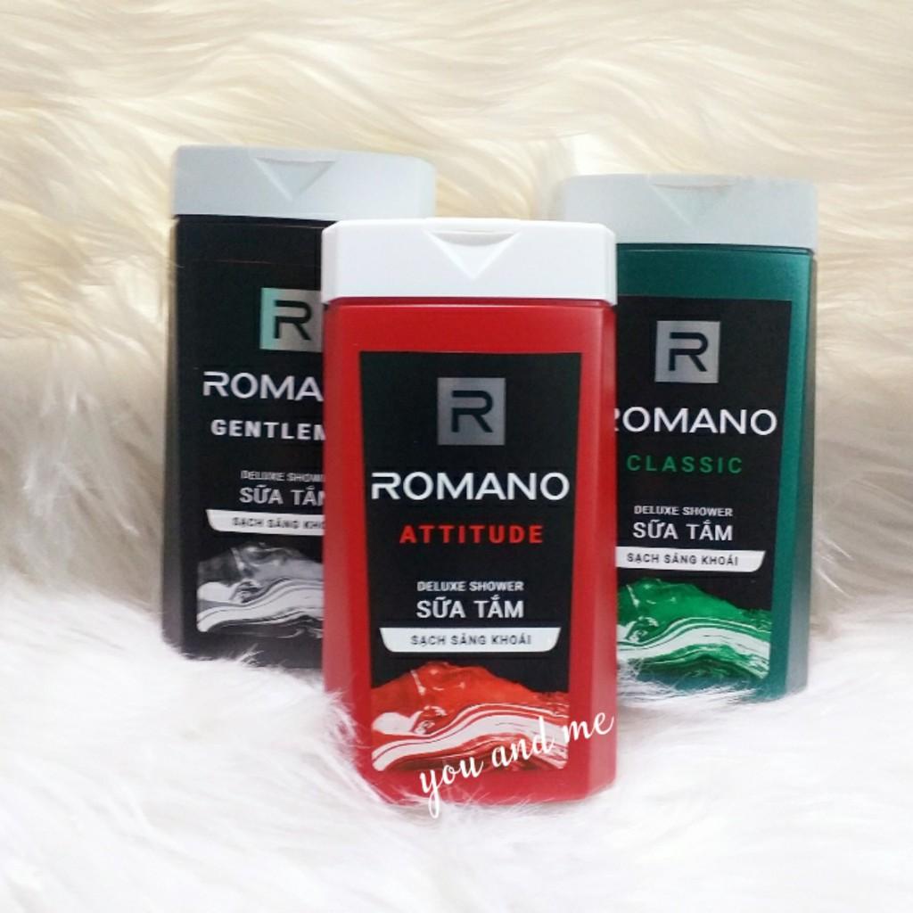 Sữa Tắm Cao cấp Nam Romano 150g (hàng tặng)