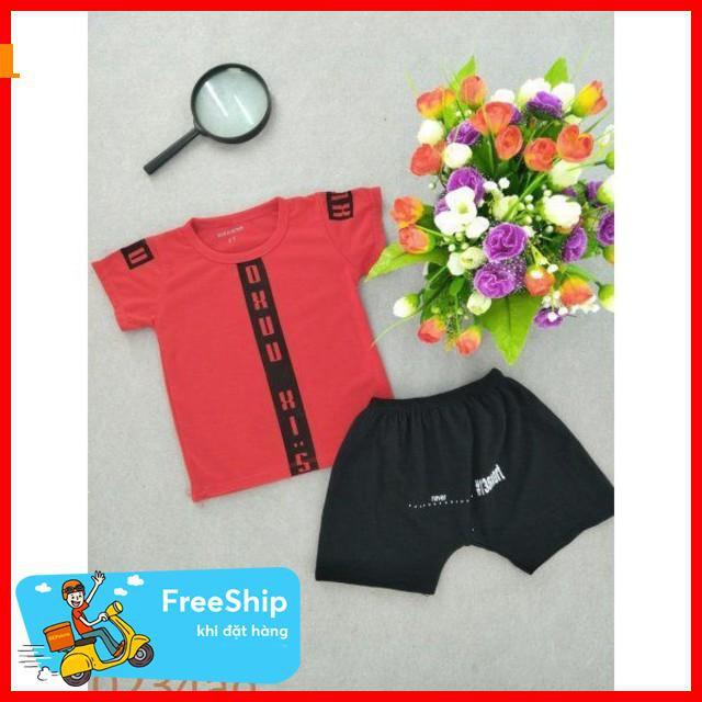 [Giảm Giá 50%] quần áo cho bé gái bé trai màu đỏ