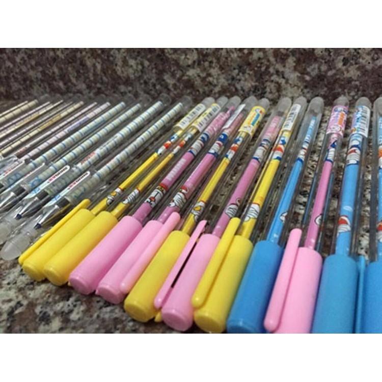 [Rẻ Vô Địch] Bộ 12 bút bi xóa được thần kì mực tím .