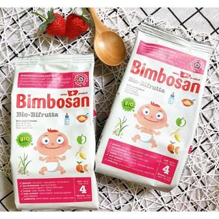 Bột ăn dặm trái cây Bimbosan Organic Bifrutta cho bé từ 4 tháng tuổi
