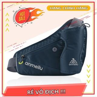Túi đeo hông chạy bộ phản quang đựng bình nước Anmeilu chính hãng