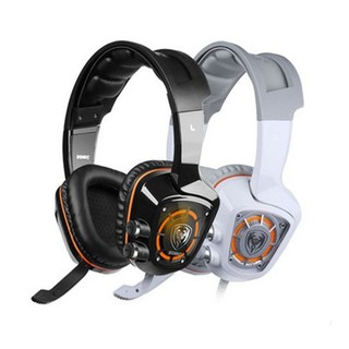 Tai nghe USB sound 7.1 chụp tai chuyên game Somic G910 (Đen, Trắng)
