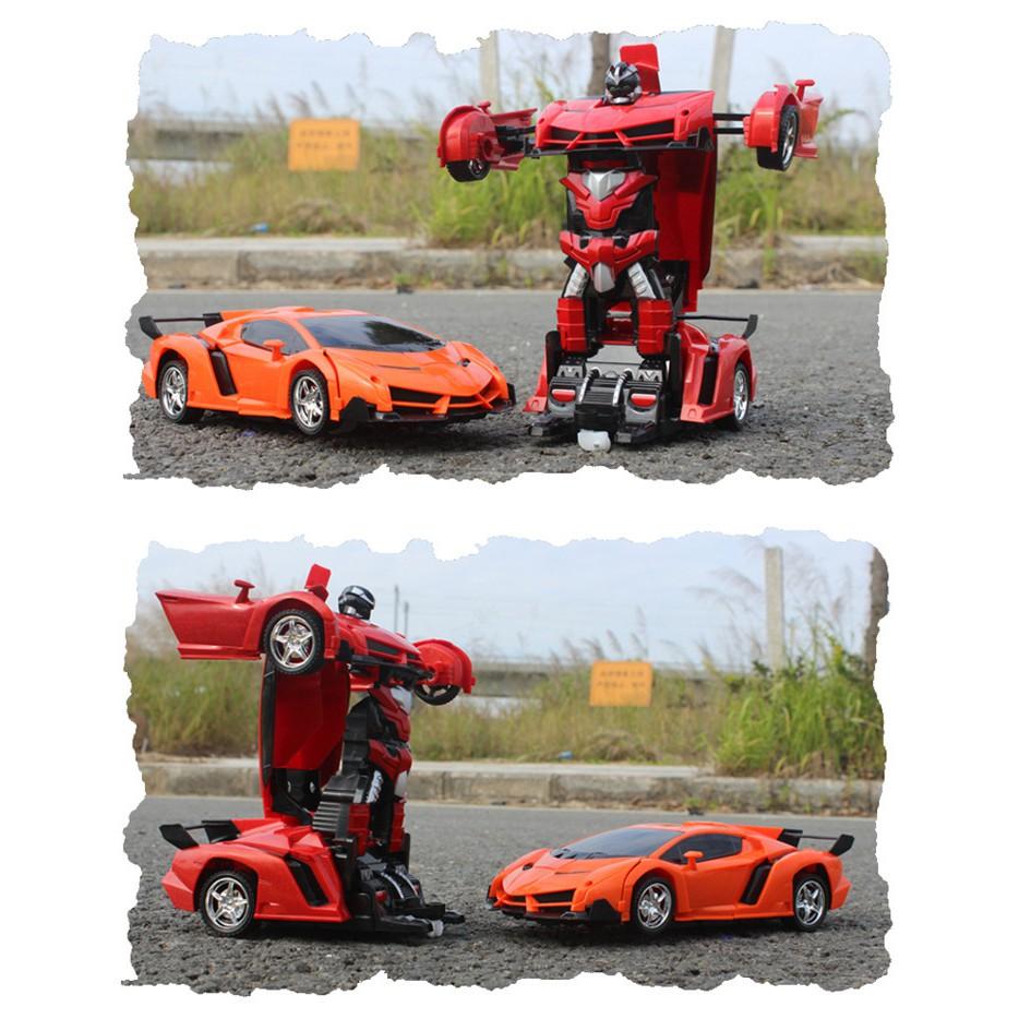 [Nhập mã TOYJULY giảm 10% tối đa 20K đơn từ 99K]Xe robot | Xe điều khiển biến hình thành robot...