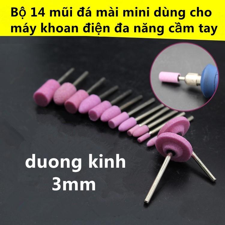 Bộ 14 mũi đá mài mini dùng cho máy khoan điện đa năng cầm tay - 10011437 , 811512564 , 322_811512564 , 60000 , Bo-14-mui-da-mai-mini-dung-cho-may-khoan-dien-da-nang-cam-tay-322_811512564 , shopee.vn , Bộ 14 mũi đá mài mini dùng cho máy khoan điện đa năng cầm tay