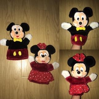 Set 2 rối tay chuột Mickey (đồ si tuyển)