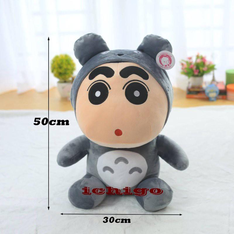 Gấu bông cậu bé Shin totoro hàng VNXK size 50cm