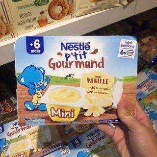 [Mẫu mới] Váng sữa Nestle 6 60g không cần bảo quản lạnh cho bé từ 6m+ thumbnail