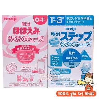 [Date tháng 11 2021] [Hàng Nhật Chính Hãng] Sữa MEIJI 24 Thanh 648g Nội Địa Nhật Bản, Sữa MEIJI Thanh thumbnail
