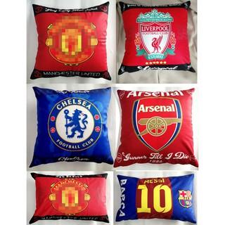 Gối nhung ôm và gối ngủ in 2 mặt các CLB bóng đá
