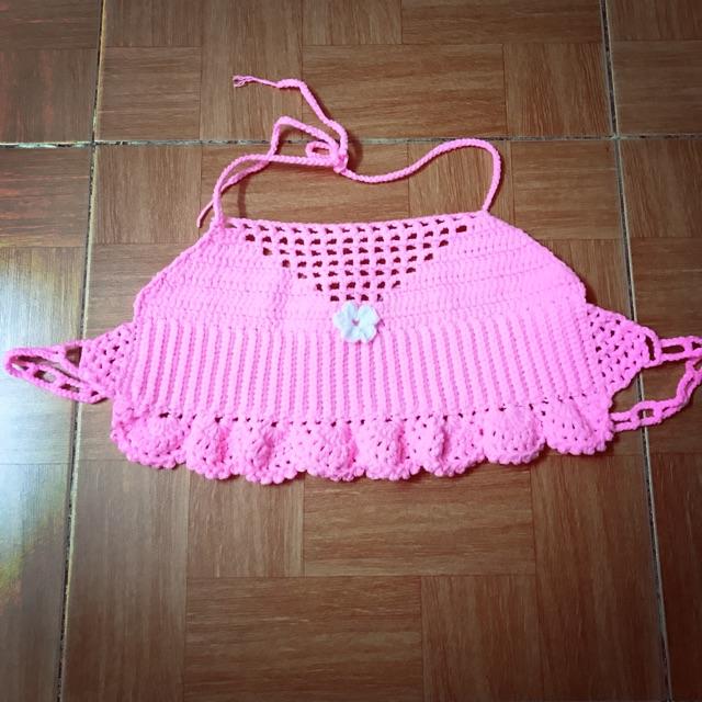 Áo tắm lưn hồng