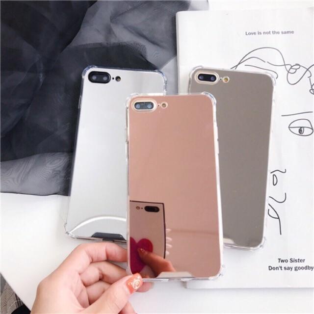 [ELMTOD giảm 30k] Ốp Gương - Ốp Iphone ( Khi dùng hãy bóc lớp nilong bên ngoài )