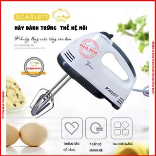 Máy Đánh Trứng Cầm Tay SCARLETT Chạy 7 Cấp Độ Bảo Hành 1 Đổi 1 - HD356 thumbnail