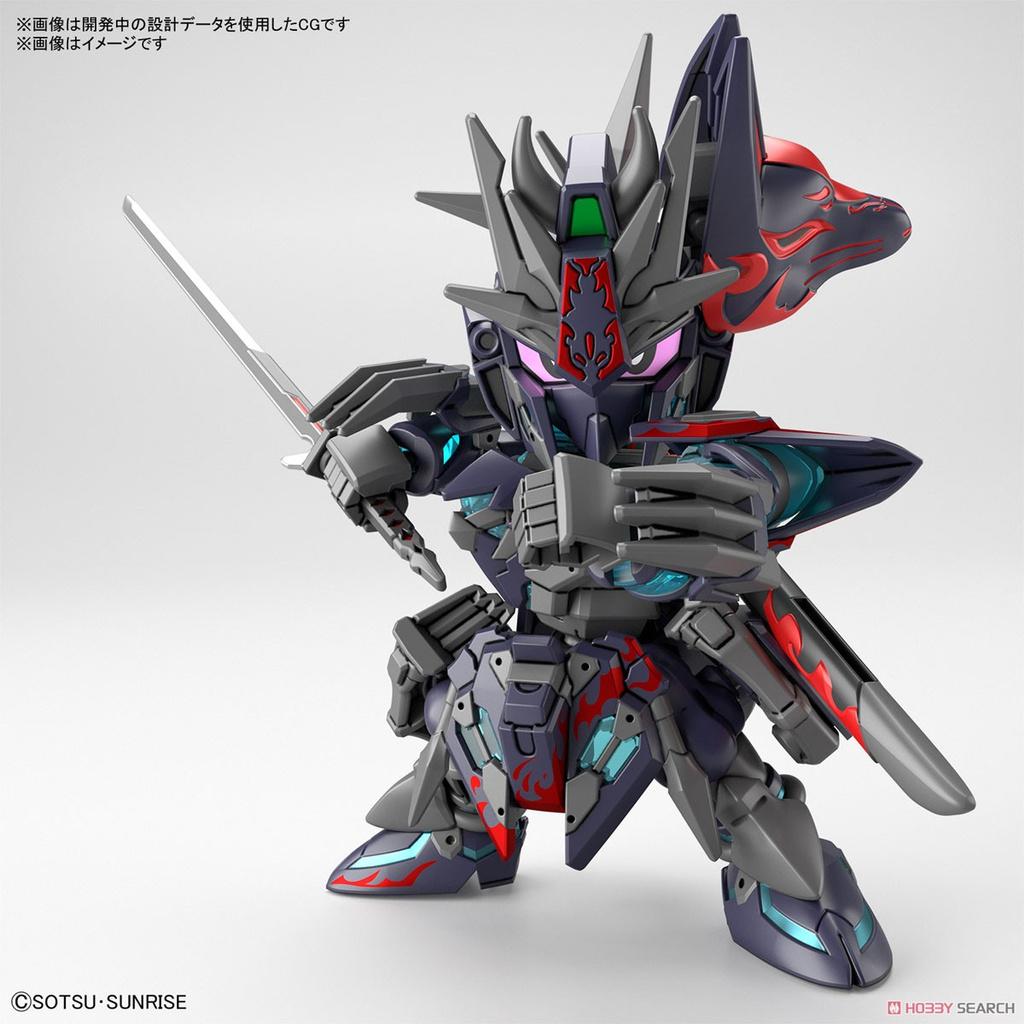 Bộ đồ chơi mô hình lắp ráp Gundam SD W HEROES SASUKE DELTA GUNDAM Sarutobi Sasuke