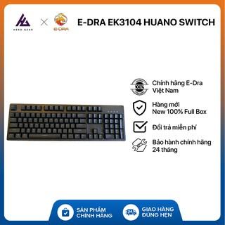 Bàn phím cơ EDRA EK3104 Phiên bản 2021 – Huano Switch – Kết nối USB Type-C – Hàng chính hãng