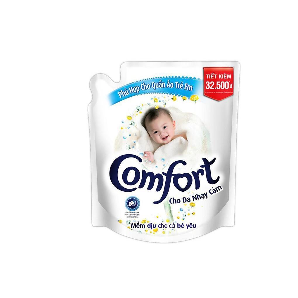 Nước xả Comfort cho da nhạy cảm túi 2.6L
