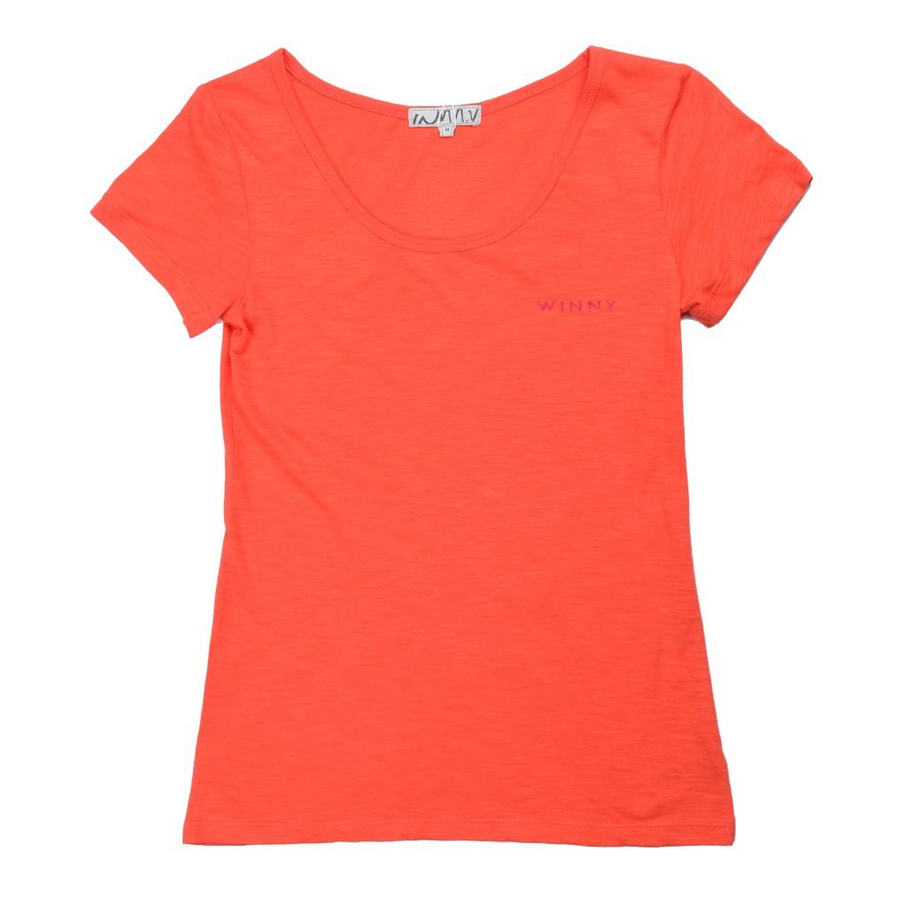 Áo thun màu Hồng cam/Hồng tím/Trắng - WA1417