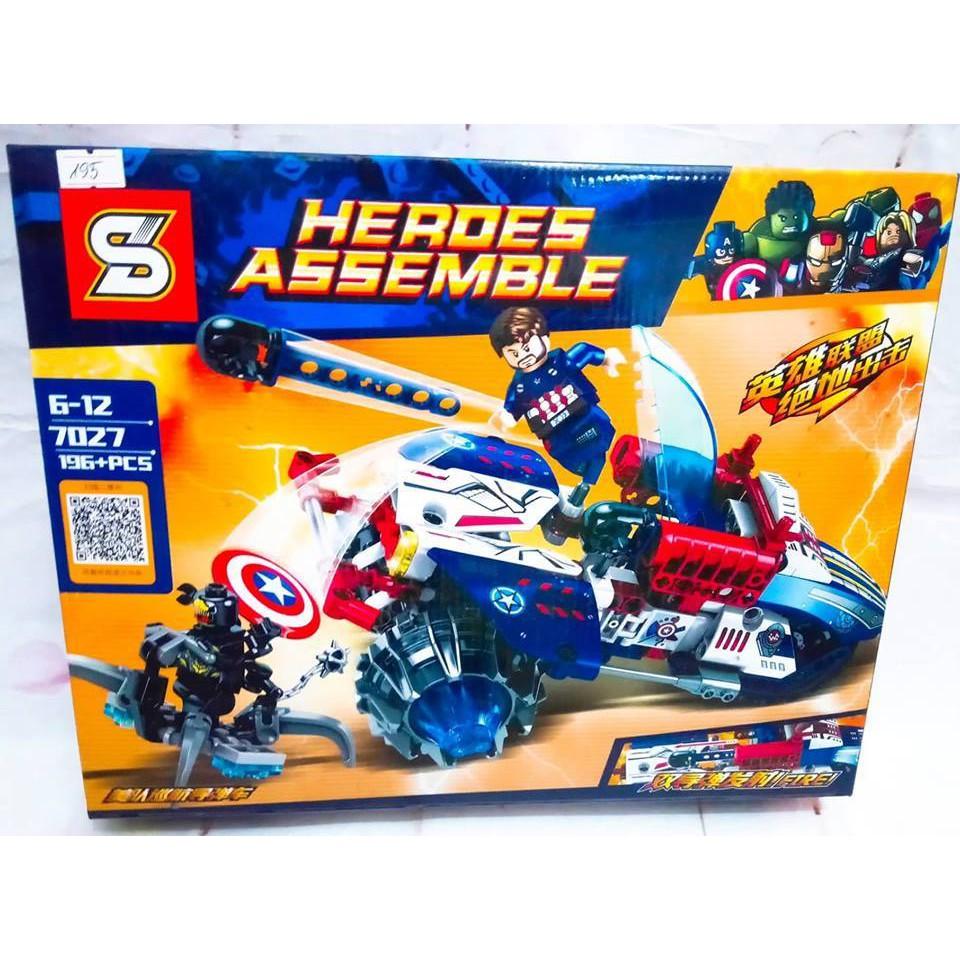 LEGO Heroes Assemble-7027