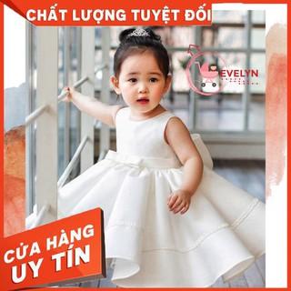 [ FREESHIP + TẶNG KÈM NƠ CÀI TÓC] Đầm công chúa Evelyn Mã VF02 thời trang cho bé gái 0-9 tuổi mặc dự tiệc sinh nhật