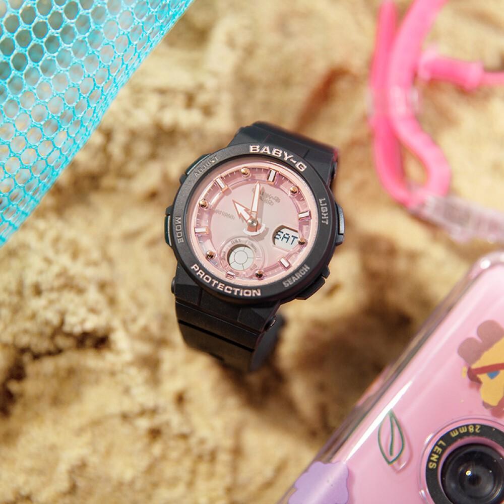Đồng hồ nữ dây nhựa Casio Baby-G chính hãng Anh Khuê BGA-250-1A3DR