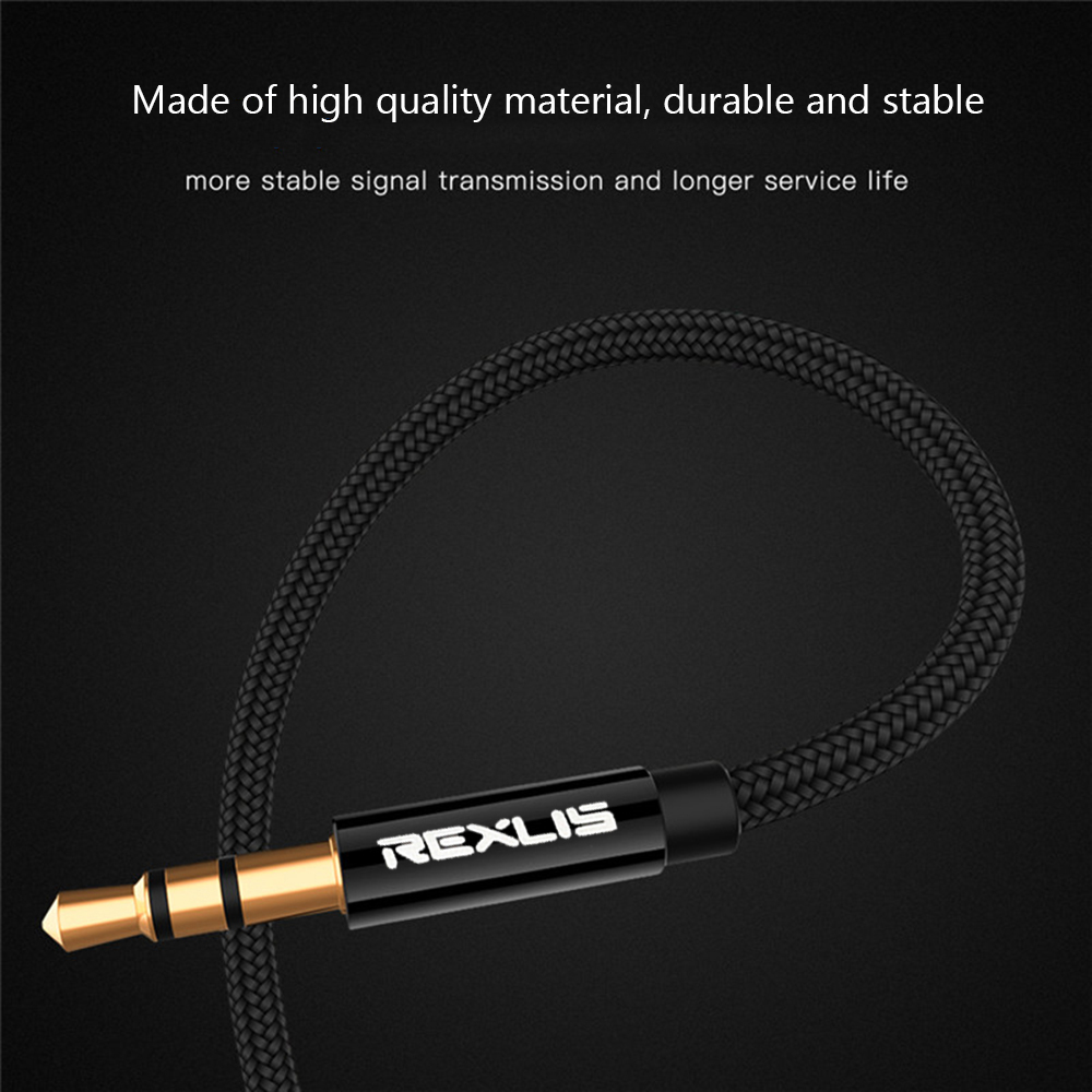 Cáp âm thanh nối dài cổng 3.5mm chiều dài 0.5m/ 1m/ 1.8m/ 3m/ 5m