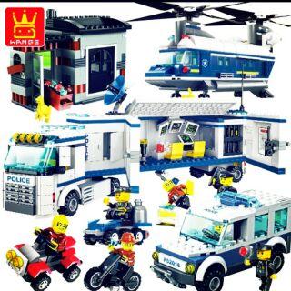 LEGO thành phố cảnh sát City Police 511 chi tiết